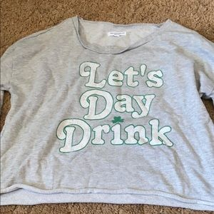 Day drink crop top